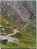 SH6459 : The path to Idwal Slabs by Ron Galliers