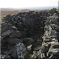 SN7361 : Ancient cairn on Garn Gron's main summit by Rudi Winter