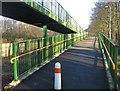 SU6153 : Footbridge Ramp by Given Up