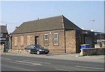 SE5023 : Former Telephone Exchange - Weeland Road by Betty Longbottom