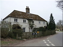 SU5846 : Dummer - Ivy Cottages by Chris Talbot