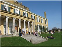 TQ1352 : The South Front, Polesden Lacey by Chris Reynolds