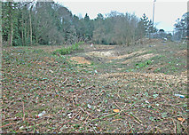 SJ4068 : Site clearance by Dennis Turner