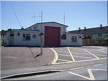 ST0107 : Cullompton : Cullompton Fire Station by Lewis Clarke