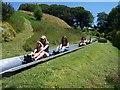 SX8151 : Dartmouth : Woodlands Theme Park, Toboggan Runs by Lewis Clarke