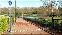 J3472 : The Lagan Walkway, Belfast (1) by Albert Bridge
