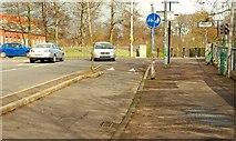 J3472 : Cycle lane, Belfast (2) by Albert Bridge