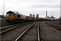 SU5290 : Didcot Freight Yard by Steve Daniels