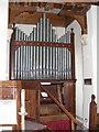 TM3556 : Organ of St.Peter's Church, Blaxhall by Geographer