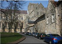 SU4829 : Winchester Cathedral: south side by Espresso Addict