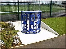 SD6509 : Bolton Wanderers Eddie Davies Football Academy, Turnstile by Alexander P Kapp