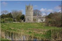 SW5435 : St Erth Church by Stephen McKay