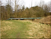 SD8632 : Pipeline over River Brun by Alexander P Kapp