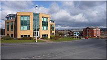 SO9568 : Buntsford Hill office development. by Mike Dodman