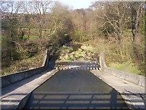 SK3899 : Elsecar Reservoir spillway by Martin Speck