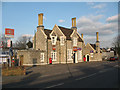 TQ7258 : Aylesford - former station buildings from the road by Stephen Craven