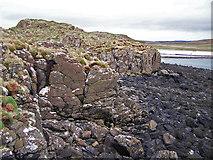 NG2254 : Southern tip of Lampay by Richard Dorrell