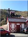 NZ6621 : Saltburn Cliff Lift by Michael Steele
