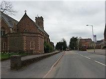 SS9712 : Tiverton : Blundell's Road & Blundell's School by Lewis Clarke