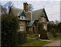 SE8644 : Londesborough Park gatehouse by Paul Harrop