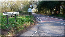 SO9875 : Monument Lane, Lickey. by Mike Dodman