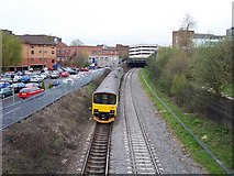 SP0198 : Central Trains DMU 150011 by Adrian Rothery