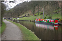SD9321 : Lightbank Lock, Rochdale Canal by Stephen McKay