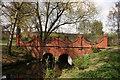 SP0891 : Brookvale lake bridge by Derek Bennett
