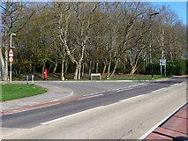SU8651 : Hospital Hill, Badajos Road junction by Chris Gunns