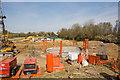 SU4721 : Brambridge Flood Protection Scheme by Peter Facey