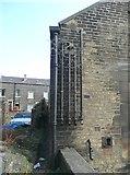 SE0724 : Pipework, West End Works, Warley Road, Halifax by Humphrey Bolton