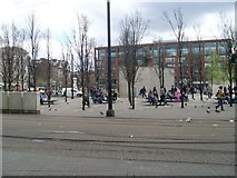 SJ8498 : Piccadilly Gardens by Stephen Sweeney