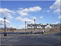 NT9953 : Station area, Berwick-upon-Tweed by Christine Matthews