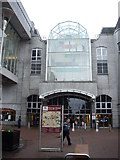 NJ9406 : Entrance to Bon Accord shopping centre by Stanley Howe