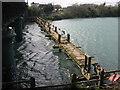 O1671 : Demolition of Laytown footbridge by Kieran Campbell