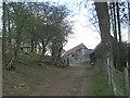 SO3282 : Approaching Stepple Farm by Row17