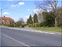 TM3864 : Low Road, Carlton by Adrian Cable