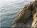 SH1834 : Rock near Trwyn Cam by David Medcalf