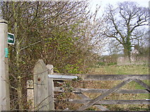 TM3761 : Bridleway to Kiln Lane by Adrian Cable