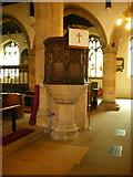 SD5192 : Holy Trinity Church, Kendal, Pulpit by Alexander P Kapp