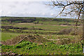 SN4714 : View across the Gwendraeth Fach valley north of Crwbin by Mick Lobb