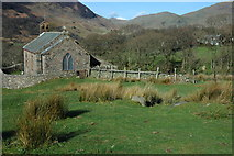 NY1717 : Buttermere Church by Philip Halling