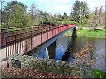 NS3421 : Craigholm Bridge by Gordon Brown
