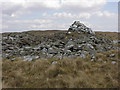 SN7768 : Cairn on top of Llethr Brith by Nigel Brown