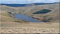NN9205 : Lower Glendevon Reservoir from Wether Hill by Rob Burke
