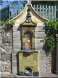 ST4071 : Drinking fountain Alexandra road Clevedon by Dr Duncan Pepper