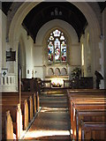 SS6644 : Interior of Christ's Church, Parracombe by Derek Voller