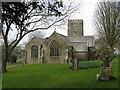 SX0854 : St. Andrew's Church, Tywardreath by Dr Neil Clifton