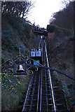 SS7249 : Lynmouth cliff railway by william