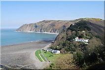 SS7249 : Lynmouth Bay by william